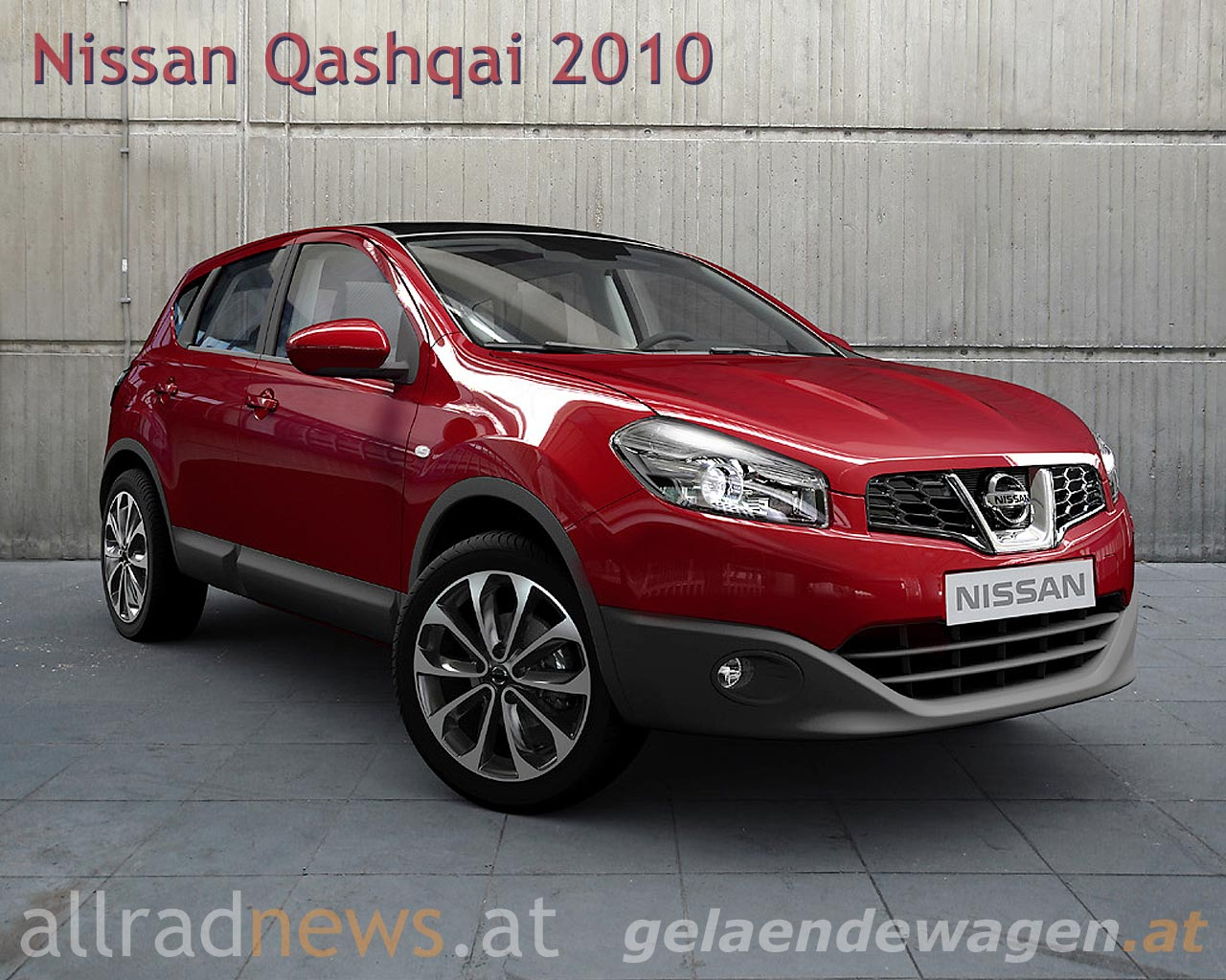 facelift f r den nissan qashqai. Black Bedroom Furniture Sets. Home Design Ideas