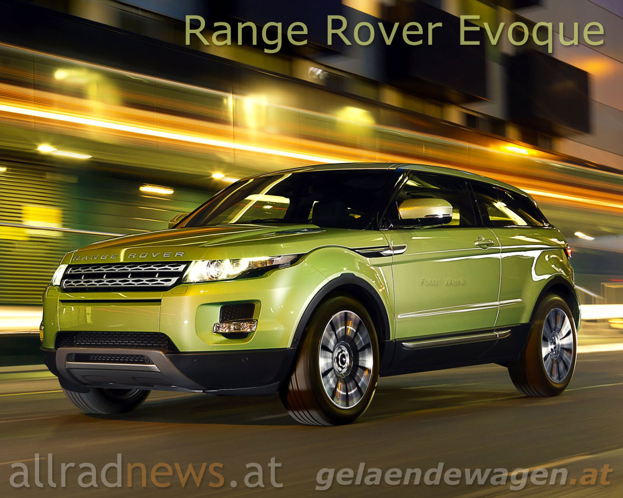 vorstellung der range rover evoque kommt im september. Black Bedroom Furniture Sets. Home Design Ideas