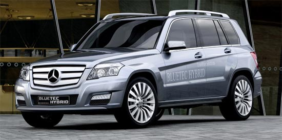 mercedes glk bluetec hybrid. Black Bedroom Furniture Sets. Home Design Ideas