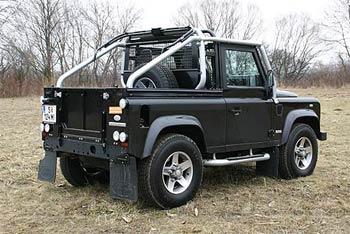 Land Rover Defender >> Land Rover Defender SVX 90 Soft Top