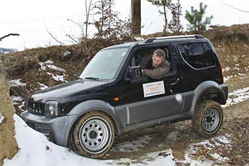 suzuki jimny joy im test ab durch die hecke. Black Bedroom Furniture Sets. Home Design Ideas