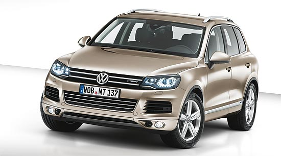 weltpremiere der neue vw touareg. Black Bedroom Furniture Sets. Home Design Ideas