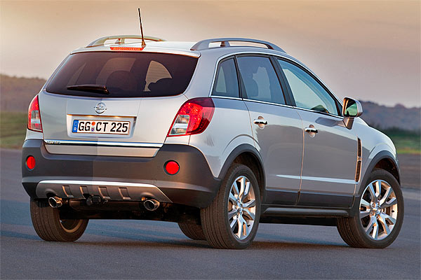 facelift und neue motoren f r den opel antara. Black Bedroom Furniture Sets. Home Design Ideas
