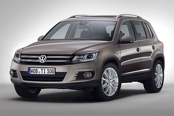 facelift f r den vw tiguan erste offizielle bilder. Black Bedroom Furniture Sets. Home Design Ideas