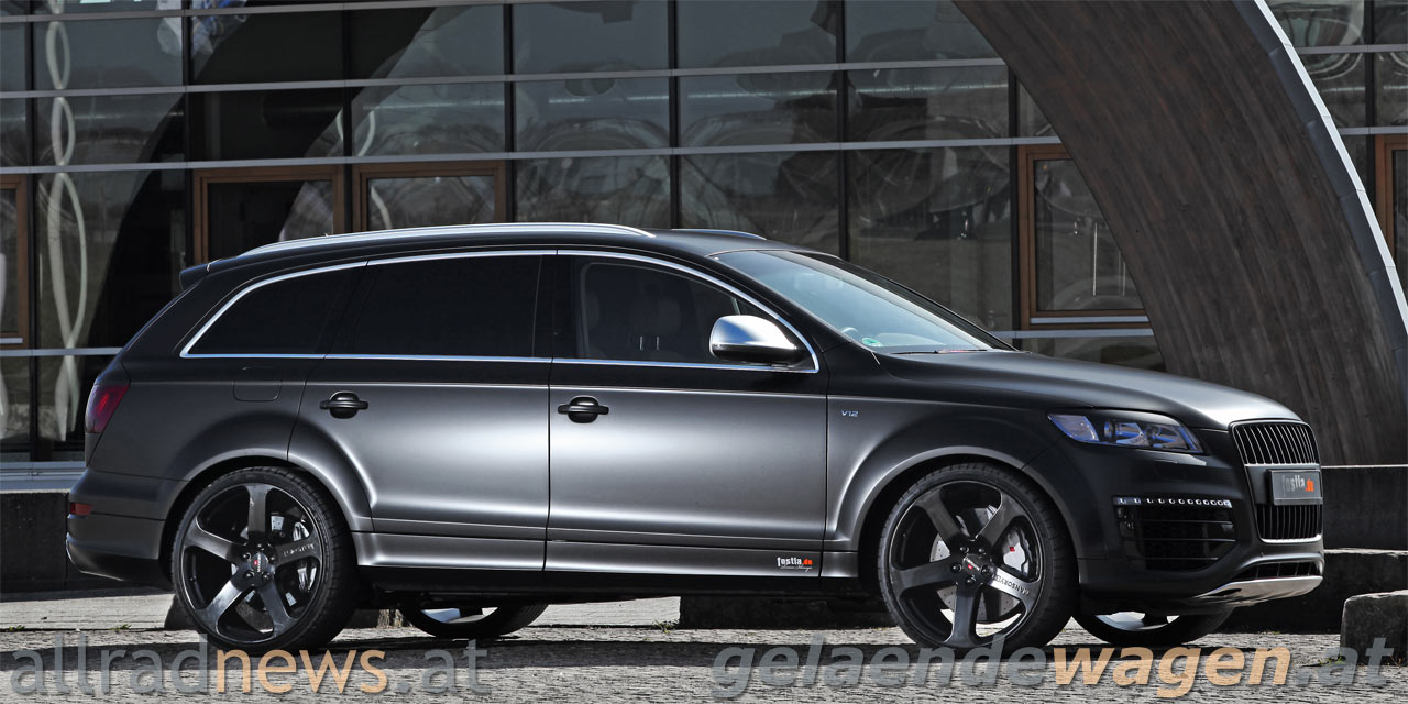 Matter Luxus: Audi Q7 vollfoliert