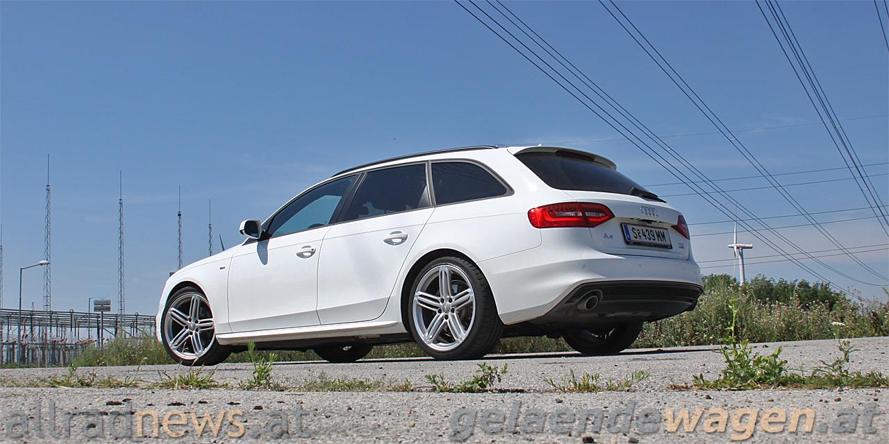 Test Audi A4 Avant Quattro S Line