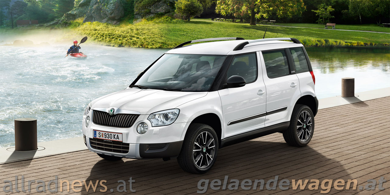 skoda yeti adventure g nstiger abenteurer. Black Bedroom Furniture Sets. Home Design Ideas