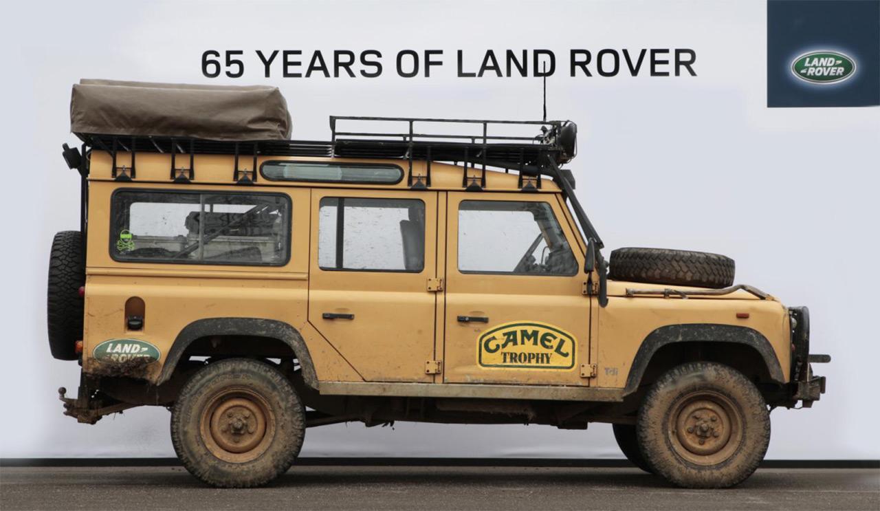 Die Land Rover Chronik Defender 110 Camel Trophy 1993