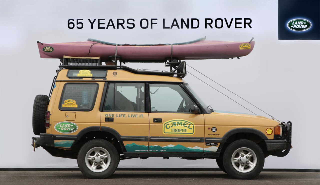 Die Land Rover Chronik Discovery Camel Trophy 1998