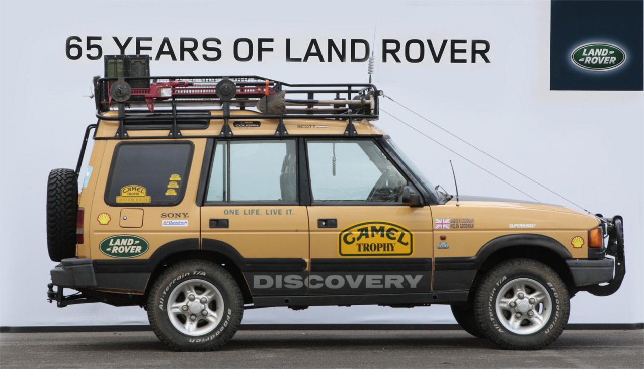 Die Land Rover Chronik Discovery Camel Trophy