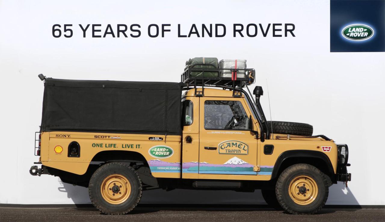 Die Land Rover Chronik Defender 110 Hcpu Camel Trophy