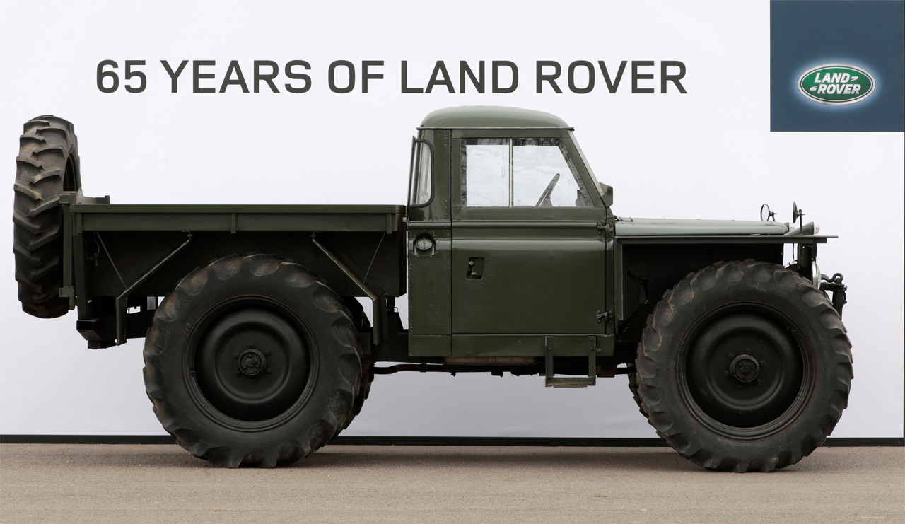 Die Land Rover Chronik Land Rover Serie 2 Forest Rover