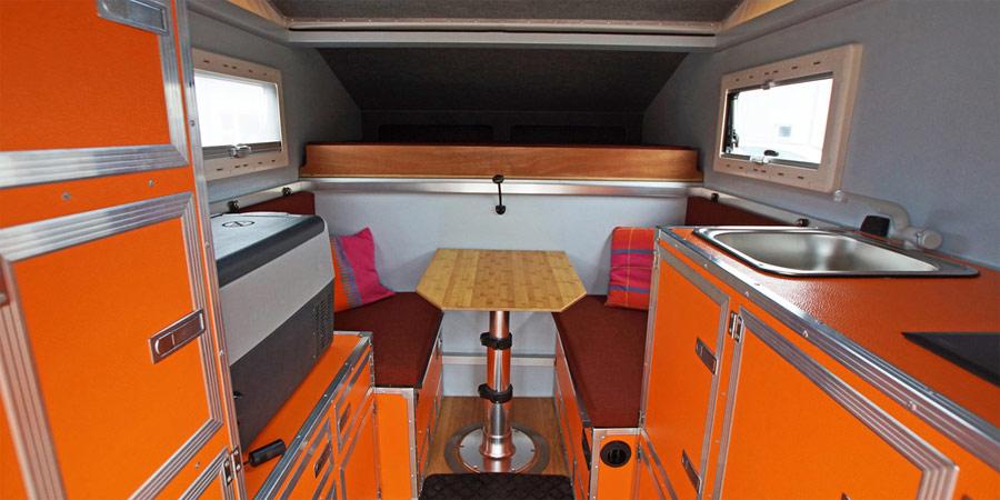offroad hesch baut pickup wohnkabinen der extraklasse. Black Bedroom Furniture Sets. Home Design Ideas