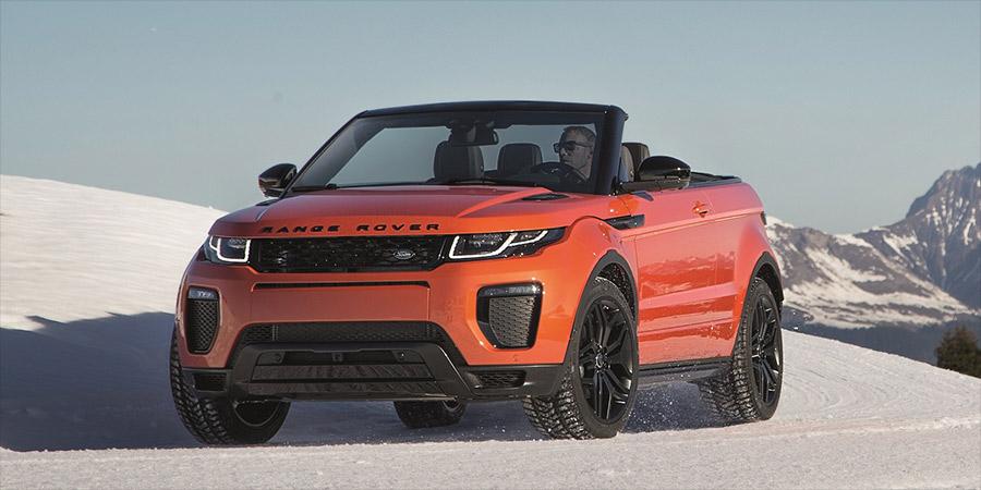 land rover pr sentiert das range rover evoque cabrio. Black Bedroom Furniture Sets. Home Design Ideas
