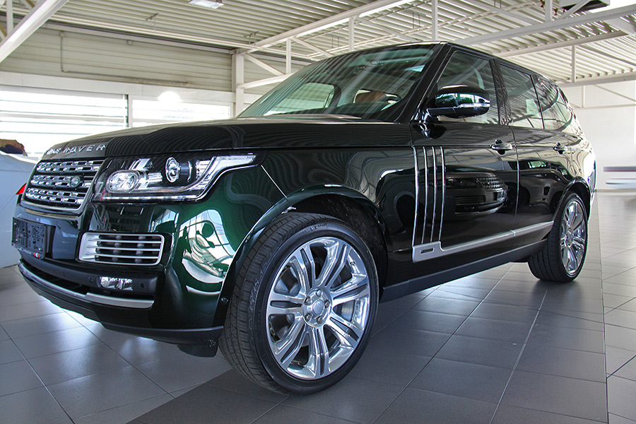 holland and holland overfinch range rover the most autos post. Black Bedroom Furniture Sets. Home Design Ideas