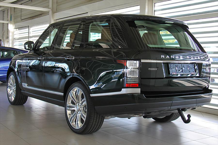 range rover holland amp holland car interior design. Black Bedroom Furniture Sets. Home Design Ideas